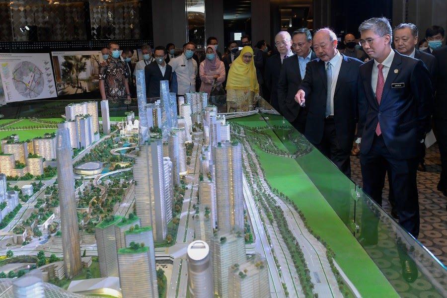 Development of RM140 billion Bandar Malaysia begins